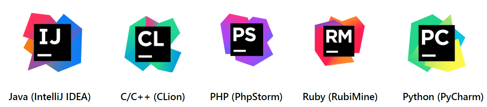 IDEs of JetBrains