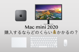 mac mini 2020 お金 価格 値段 コスパ
