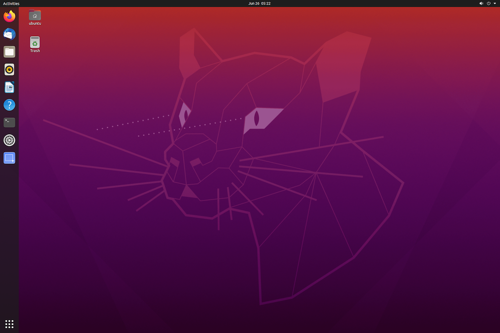 ラズパイ4B Ubuntu 20.04 LTS